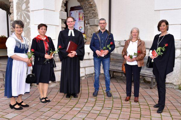Nachgetragene Jubel-Konfirmation Hermagor am Sonntag 30.05.2021